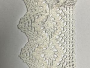 Памучна дантела 6 см