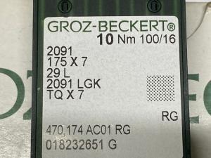 GROZ- BECKERT TQ7 100 RG